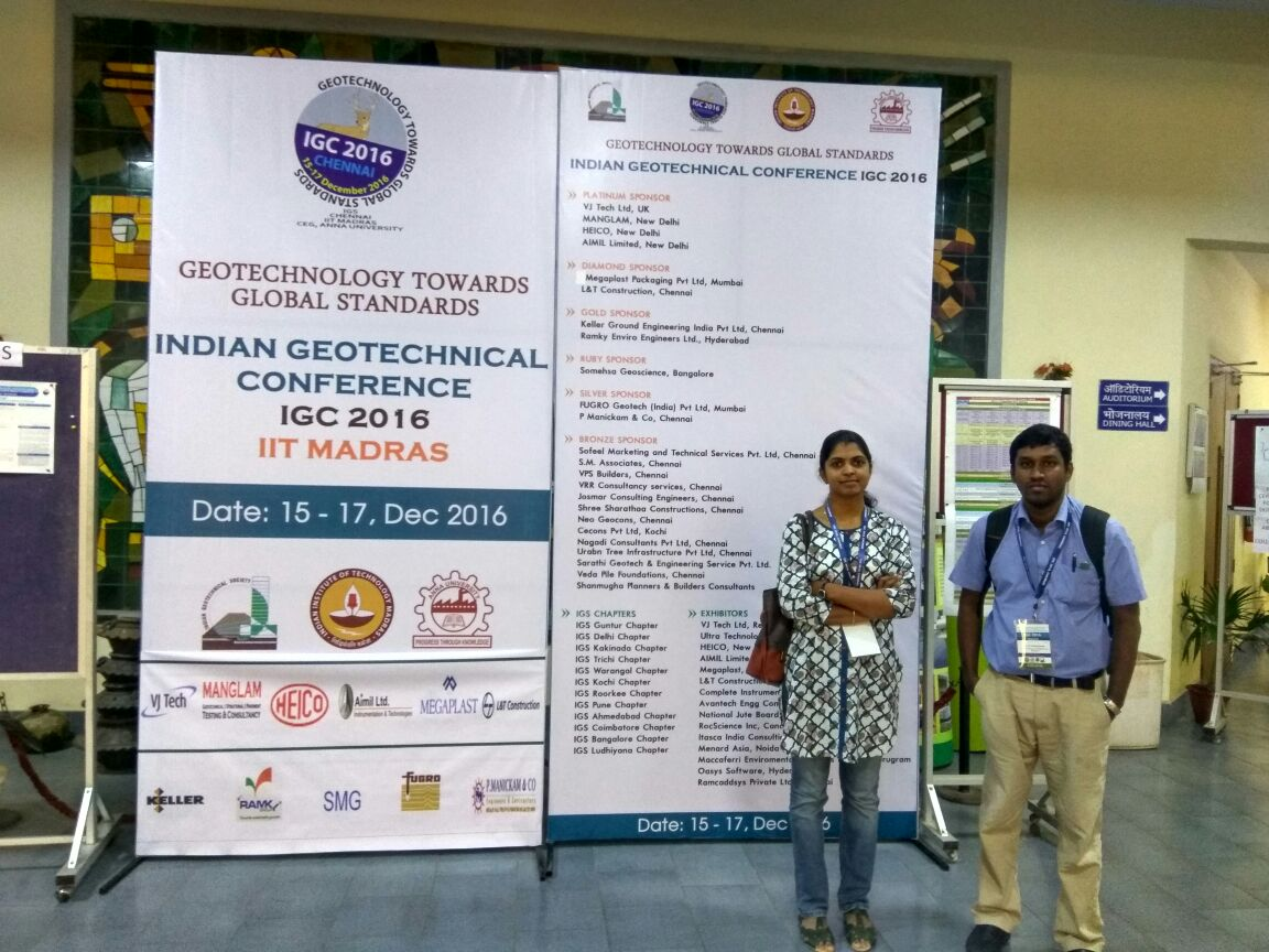 Conferences – Sarathy Geotech